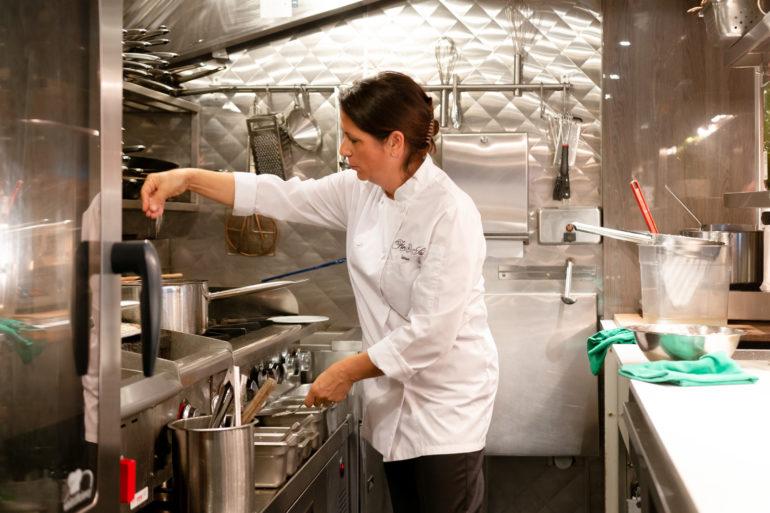 Cristina Da Costa, Owner of Flor de Sal Restaurant. NOAH GANHÃO