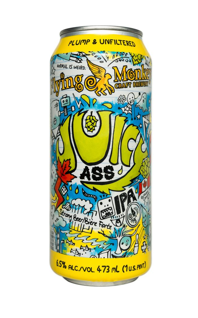 Craft Beer - Flying Monkeys Juicy Ass. NOAH GANHÃO