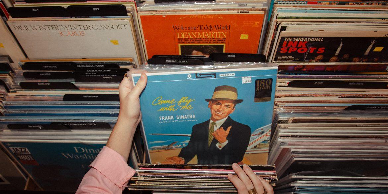 Frank Sinatra Vinyl Album