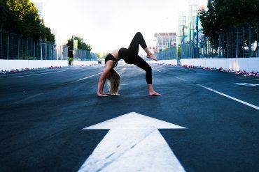 Yoga on Track