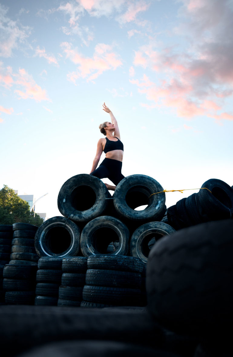 Yoga on TIres