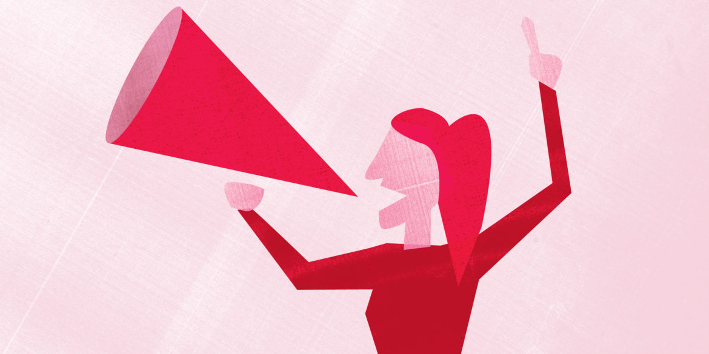 female empowerment illustration
