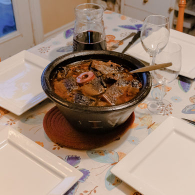 Alcatra on table